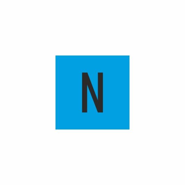 E018SE N - označovacia elektrotechnická značka