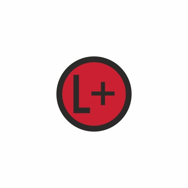 E024SE L+ - označovacia elektrotechnická značka