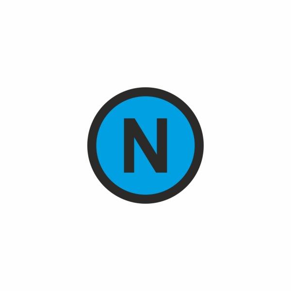 E026SE N - označovacia elektrotechnická značka
