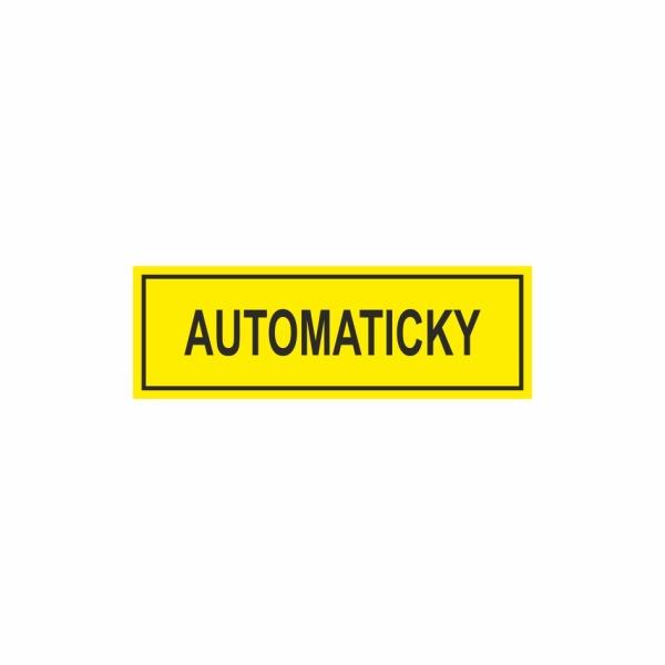 E040SE Automaticky - označovacia elektrotechnická značka
