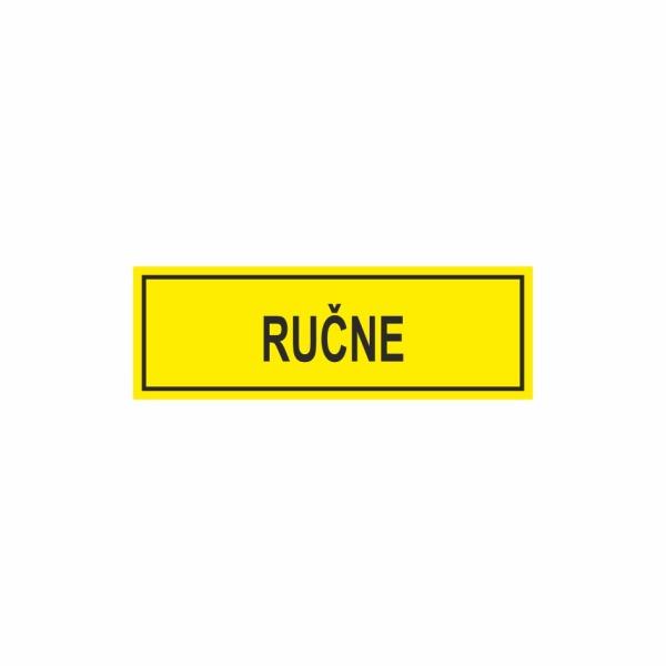 E041SE Ručne - označovacia elektrotechnická značka