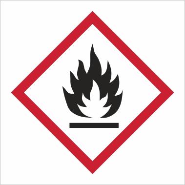 Symbol GHS 02 - Označenie horľavých látok