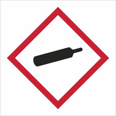 Symbol GHS 04 - Označenie plynov pod tlakom