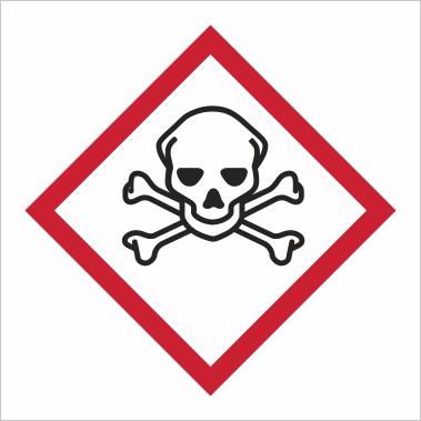 Symbol GHS 06 - Označenie toxických látok