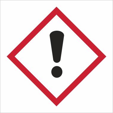 Symbol GHS 07 - Označenie dráždivých látok