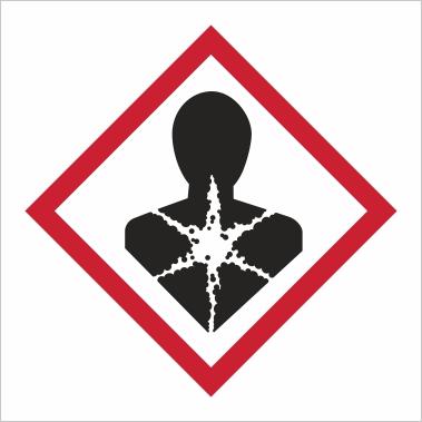 Symbol GHS 08 - Označenie látok nebezpečných pre zdravie