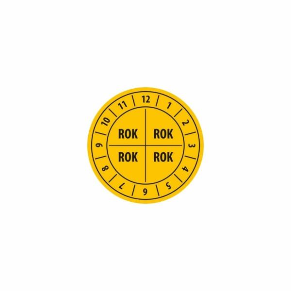 K010 - Kontrolný a kalibračný štítok