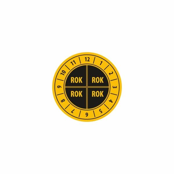 K011 - Kontrolný a kalibračný štítok