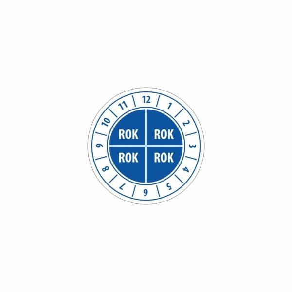 K012 - Kontrolný a kalibračný štítok