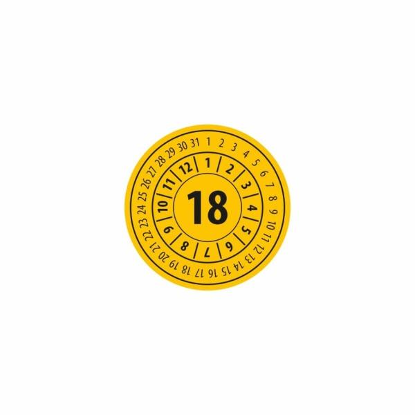 K019 - Kontrolný a kalibračný štítok