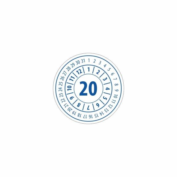 K021 - Kontrolný a kalibračný štítok