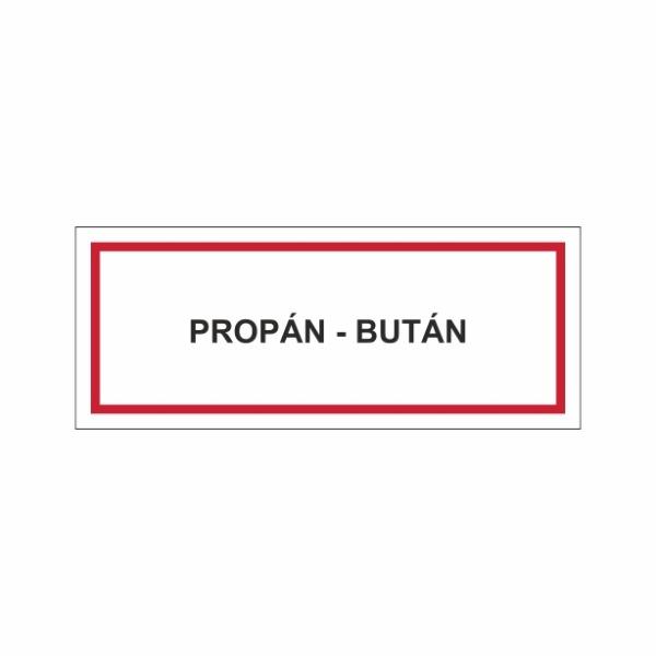 Propán-Bután - textová značka M18