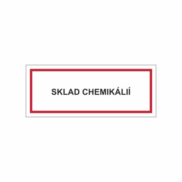 Sklad chemikálií - textová značka M30