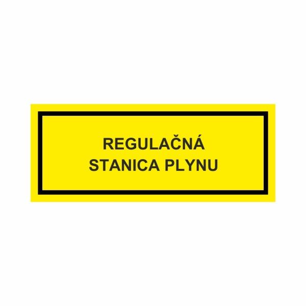 Regulačná stanica plynu - textová značka M58