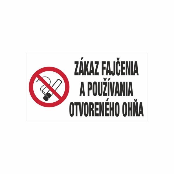 570 - Zákaz fajčenia a používania otvoreného ohňa