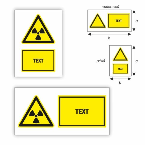 Pozor nebezpečné žiarenie