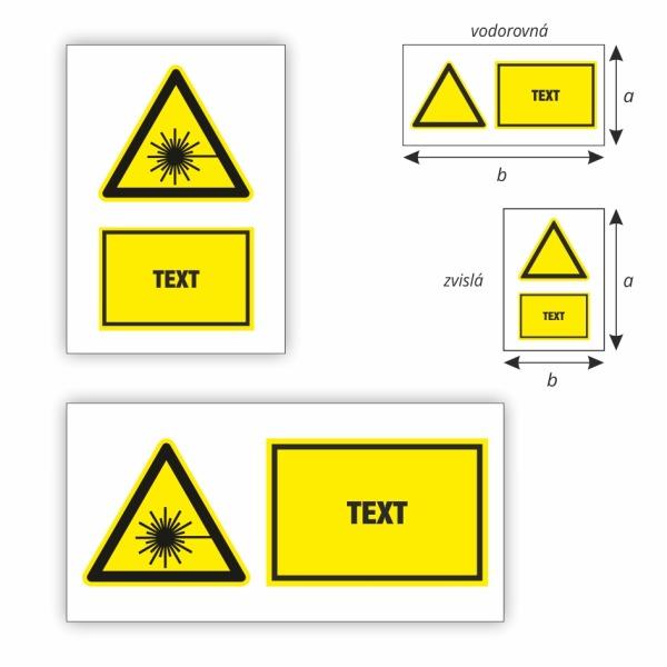 Pozor laserové žiarenie
